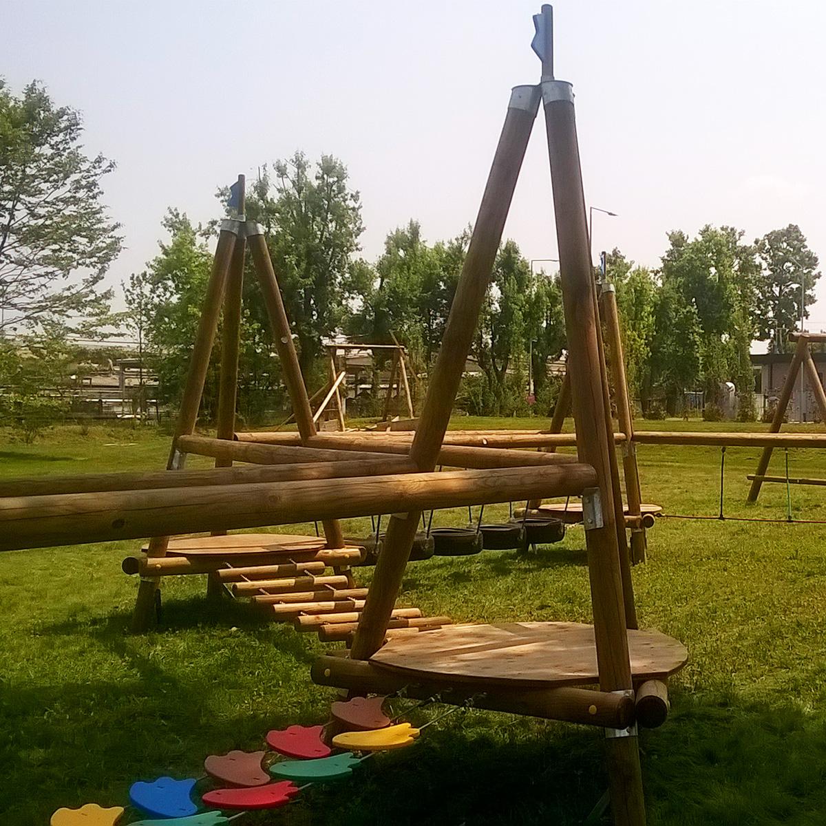 Il legno: il migliore amico dei giochi